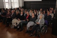 Welche Aufmerksamkeit der Jürgen-Markus-Preis bekommt, zeigte der voll besetzte Rathaussaal.©Heiko Krause i.A.d. Stadt Marburg