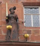 Justitia am Marburger Rathaus©Universitätsstadt Marburg, Carolin Albert