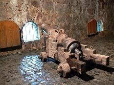 Kanone in der ebenfalls wieder hergerichteten Nord-Kasematte.©Rainer Kieselbach