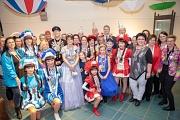 Der Magistrat der Stadt Marburg bedankte sich bei den verdienten Karnevalist*innen mit dem Magistratsorden und dem Hahnordern der Universitätsstadt Marburg.