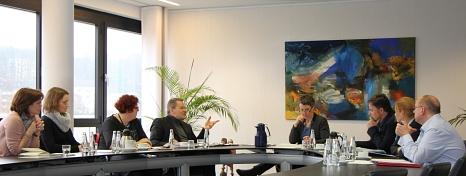 """Kernteam der Initiative """"Gesundheit fördern - Versorgung stärken"""" von Universitätsstadt Marburg und Landkreis Marburg-Biedenkopf©Landkreis Marburg-Biedenkopf"""