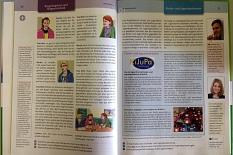 """Ein Artikel zum KiJuPa in dem Schulbuch """"Demokratie heute"""" vom Westermann-Verlag.©Universitätsstadt Marburg"""