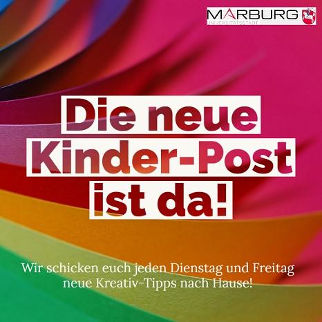 Kinder-Post©Universitätsstadt Marburg