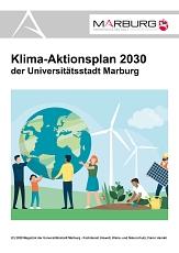 Das Titelblatt des Klima-Aktionsplans 2030©Universitätsstadt Marburg