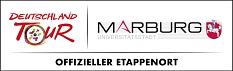 Kombi-Logo Stadt Marburg und Deutschland Tour©Deutschland Tour