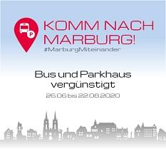 Komm nach Marburg - Vergünstigungen Parken/Bus&Bahn©Universitätsstadt Marburg