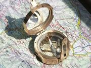 Foto eines Kompasses.