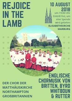 Konzert des Choir of St. Matthew's Church Northampton©Choir of St. Matthew's Church Northampton