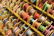 Inspiration und vielerlei Materialien finden Handarbeitsbegeisterte bei der Kreativmesse.