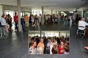 Kulturdezernentin Dr. Kerstin Weinbach hat die 38. Marburger Sommerakademie eröffnet. Zum Auftakt kamen Teilnehmende sowie Dozentinnen und Dozenten ins Gespräch.