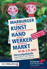 Kunstvolle Kreationen erwarten große wie kleine Gäste beim Marburger Kunsthandwerkermarkt vom 31. Oktober bis zum 1. November.©Universitätsstadt Marburg