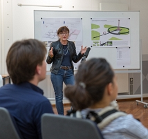Anne Berlits Entwurf sieht eine Offenlegung und Umwidmung der Grundsteinkammer vor.