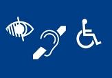 Logos Behinderungen©Universitätsstadt Marburg