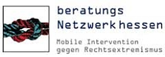 Logo beratungsNetzwerk hessen - mobile Intervention gegen Rechtsextremismus©beratungsNetzwerk hessen - mobile Intervention gegen Rechtsextremismus