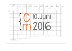 Logo campus marburg 2016 - cm 10. Juni 2016 auf liniertem Papier©Universitätsstadt Marburg
