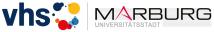 Logo der Volkshochschule (vhs) Marburg
