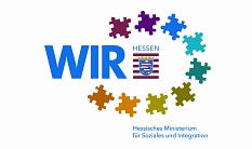 Logo des Landesprogramms WIR - HMSI©HMSI