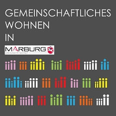Logo Gemeinschaftliches Wohnen©Universitätsstadt Marburg