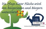 Logo zur Kennzeichnung der ehrenamtlichen Pflegeunterstützung durch Bürgerinnen und Bürger
