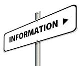 """Schild mit dem Text """"Information""""©Gerd Altmann / PIxabay"""