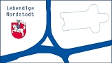 """Logo """"Lebendige Nordstadt"""" als jpg-Datei©Vanessa Veit"""