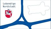 """Logo """"Lebendige Nordstadt"""" als jpg-Datei"""
