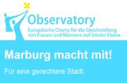 Logo Marburg macht mit für eine gerechtere Stadt.