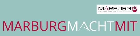 Logo der Marburger Bürgerbeteiligung - MarburgMachtMit©Universitätsstadt Marburg