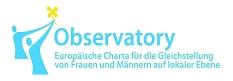 Logo Observatory - Europäische Charta für die Gleichstellung von Frauen und Männern auf lokaler Ebene©Universitätsstadt Marburg