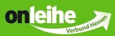 Logo mit Text OnleiheverbundHessen und einem weißen Pfeil auf grünem Hintergrund©OnleiheverbundHessen