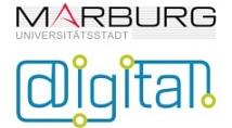 Logo Online-Service Marburg über digital