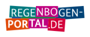 Logo Regenbogenportal.de