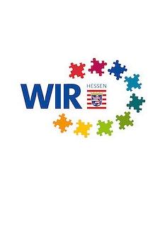 Logo WIR Projekt©Hessisches Ministerium für Soziales und Integration