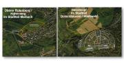 Luftbilder Oberer Rotenberg im Stadtteil Marbach und Hasenkopf im Stadtteil Ockershausen in der Universitätsstadt Marburg