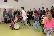 Eine Kindergruppe der Kindertagesstätte Erfurter Straße präsentierte den Gästen von der Bildungsoffensive Mabison, wie viel Spaß musikalische Früherziehung machen kann. Mabison hat ein Modellprojekt zwischen drei Betreuungseinrichtungen und der Musikschul