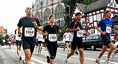 Marathonlauf durch Marburg