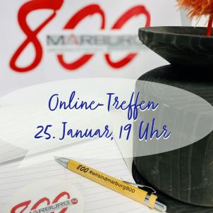 Beim Online-Treffen am 25. Januar gibt es Infos, Zeit für Fragen und Austausch.