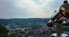 Blick vom Spiegelslustturm auf Marburg
