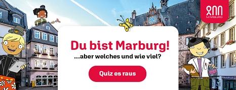 """Marburg-Quiz """"Du bist Marburg...aber welches und wie viel""""©Universitätsstadt Marburg"""