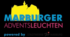 Marburger Adventsleuchten: Logo © Stadtmarketing Marburg e. V.