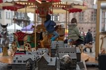 Das Karussell wurde von den kleinen Gästen rege genutzt.