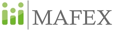 Das Logo vom Marburger Institut für Innovationsforschung und Existenzgründungsförderung (MAFEX)©Philipps-Universität Marburg