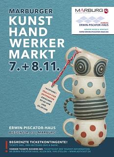 Marburger Kunsthandwerkermarkt am 07. und 08.11.2020©Stadt Marburg