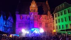 Marburger Maieinsingen 2019: Bühne©Stadtmarketing Marburg e. V.