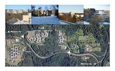 Masterplan Campus Lahnberge, Luftbild und Fotos©Universitätsstadt Marburg
