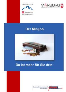 Minijob – Da ist mehr für Sie drin!©Universitätsstadt Marburg