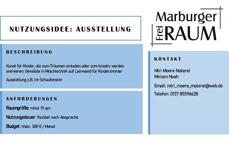 Miri Moere Malerei©Stadtmarketing Marburg e. V.