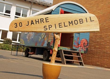 Mit einem einzelnen Bauwagen fing alles an, mittlerweile reist das Spielmobil mit vier großen Wagen in den Ferien in die Stadtteile.©Heiko Krause i.A.d. Stadt Marburg