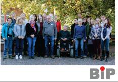 Mitarbeiterinnen und Mitarbeiter im, 2015©Universitätsstadt Marburg