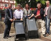 Mithilfe von Hauseigentümern notwendig: Chippen der Abfallgefäße in der Oberstadt startet am 2. Juli
